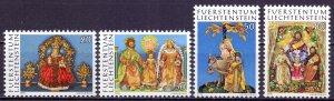 Liechtenstein. 1976. 662-65. Christmas. MNH.