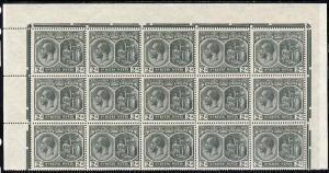 St Kitts-Nevis 1920-22 KG5 MCA Medicinal Spring 2d slate-...