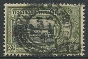 STAMP STATION PERTH Trinidad &Tobago #58 KGVI Pictorial Definitive Used 1938-41