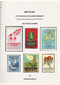 (I.B-CK) Cinderella Catalogue : Poster Stamps : Bicycles (excluding Germany)