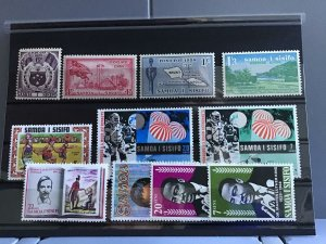 Samoa I Sísifo mounted mint and mint never hinged  stamps  R24721