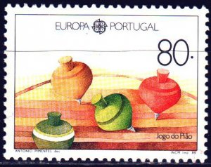 Portugal. 1989. 1786 from the series. Children's toys, europe-sept. MNH.