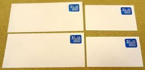 U589, 3.1c U.S. Postage Envelope qty 4