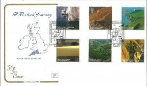 A British Journey South West England 2005 Cotswold Covers First Day Cover W112
