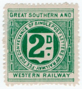 (I.B) Great Southern & Western Railway (Ireland) : Letter 2d