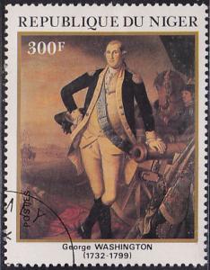 Niger 577 George Washington 1982