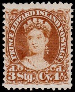 Prince Edward Island Scott 10 (1870) Mint H VF, CV $90.00 B