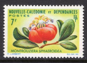 New Caledonia 335 Flower MNH VF