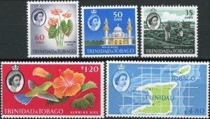 Trinidad and Tobago #98-102 High Value Short Set MNH