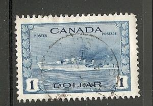 Canada Used With cds Scott cat.# 262