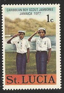 St. Lucia Mh  sc#  420