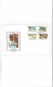 Dominica FDC International Year of the Child 1979 Official Cachet