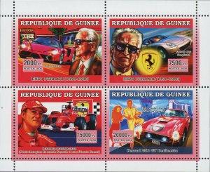 Ferrari Stamp Car Enzo Ferrari 250 GT Berlinetta Michael Schumacher S/S MNH
