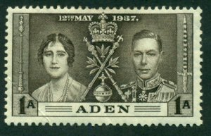 Aden 1937 #13 MH SCV (2018)=$0.80