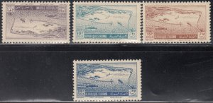 Syria, Sc C158-C161 (2), MNH, 1950, Port of Latakia