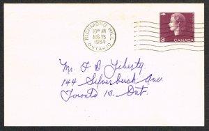 Canada Unitrade Postal Card UX96a