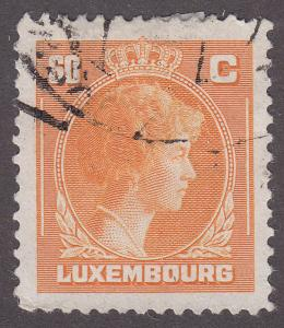 Luxembourg 222a Hinged 1946 Grand Dutchess Charlotte