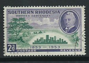 Southern Rhodesia SG 73  VFU