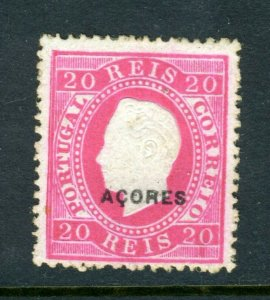 AZORES #49b Surfaced paper Perf 13 1/2 (Mint HINGED) cv$150.00