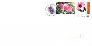Australia, Postal Stationary, Flowers, Worldwide First Day Cover