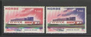 Norway Sc 617-18 1973 Nordic Cooperation stamps mint NH