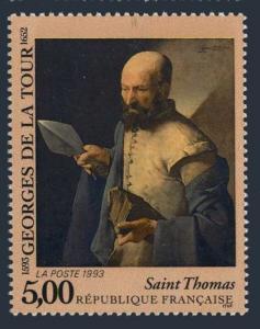 France 2373,MNH.Michel 2973. Saint Thomas,by Georges de la Tour.1993.