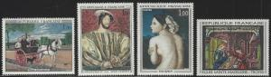 France #1172-1175 MNH Full Set of 4 Paintings