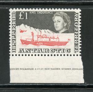 BRITISH ANTARCTIC  TERRITORY SCOTT#24 SG#15a   MINT NEVER  HINGED--SCOTT$190.00