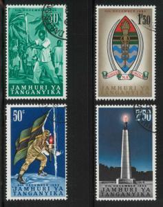 Tanganyika 57-60 Used VF
