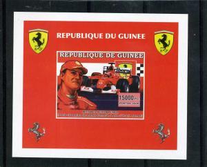 Guinea RD 2006 Ferrari Schumacher Deluxe s/s mnh.vf