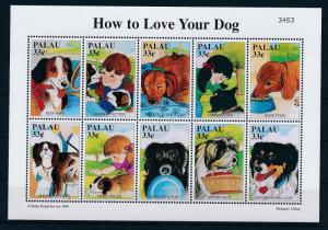 [35335] Palau 1999 Animals Dogs MNH Sheet