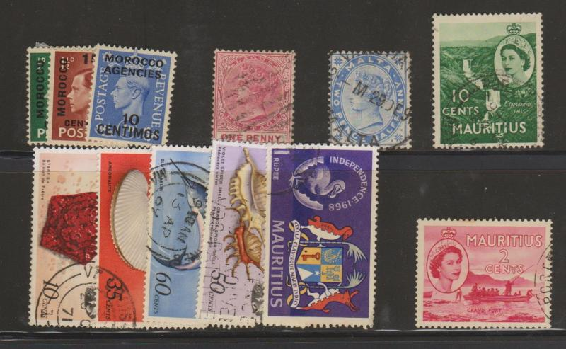 British Commonwealth Small Mint and Used Lot