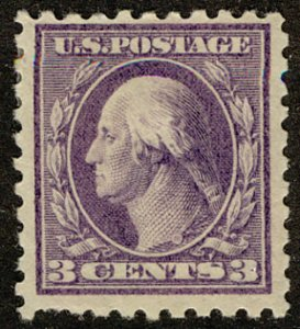 US #464 SCV $65.00 VF mint hinged, strong color,   VERY FRESH STAMP!   SCV $6...