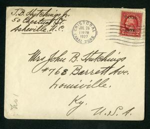 Canal Zone 1927 Stationary w/ Sc# 97 Panama Mail Steamship co