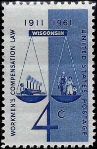 1186 Mint,OG,NH... SCV $0.25