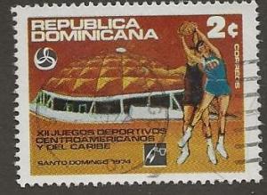 DOMINICAN REPUBLIC SC #  720   USED
