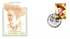 Andorra, Worldwide First Day Cover, Europa