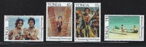 Tonga MNH SC#  640 - 643