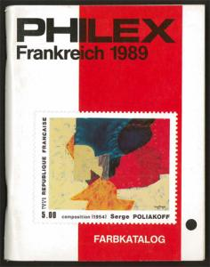 PHILEX Catalogue of France Stamps (1989)