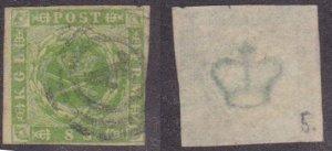 Denmark #5a used CV $60
