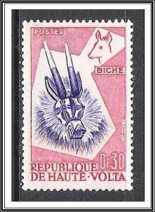 Upper Volta #71 Animal Masks MNH