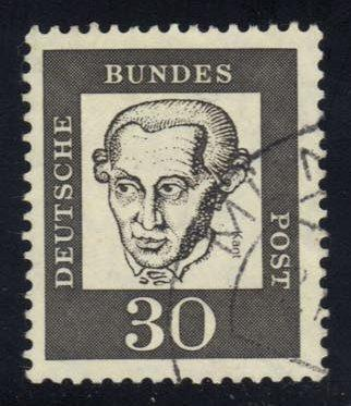 Germany #831 Immanuel Kant;, Used (0.25)