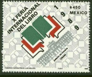 MEXICO 1607, 10th International Book Fair of Mexico City. MINT, NH. VF.