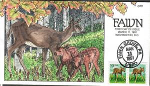 US Collins FDC SC#2479 Fawn