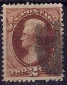 US Sc 146  Used RED BROWN VF