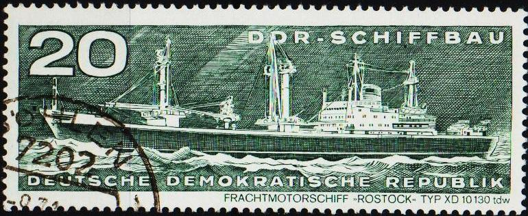 Germany(DDR). 1971 20pf S.G.E1415 Fine Used