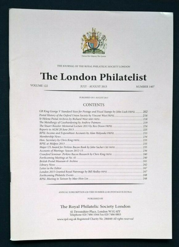 Great Britain George V Standard Sizes for Postage and Fiscal Stamps Proofs Dies