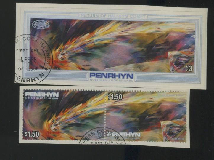 Penrhyn Is #334-6 Used VF CAt$13