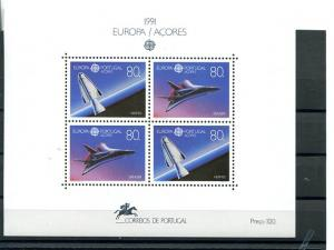 Portugal Azores  Europa  1991  Mint  VF NH   - Lakeshore Philatelics