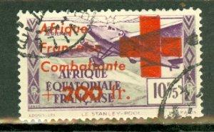 AV: French Equatorial Africa CB6 mint CV $240